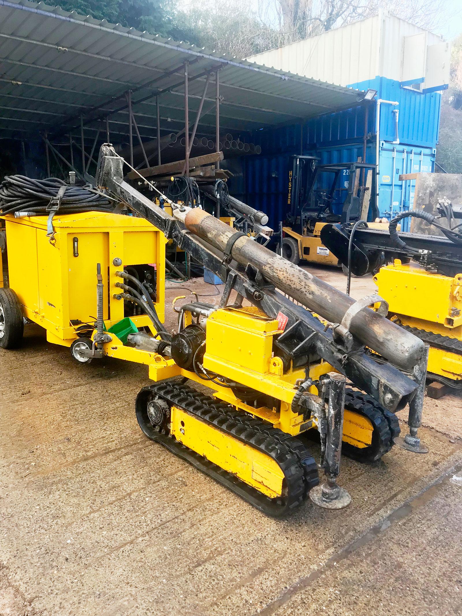 Equipment: GP D500 drop hammer rig